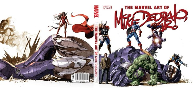 The Marvel Art Of Mike Deodato Jr. (2011)