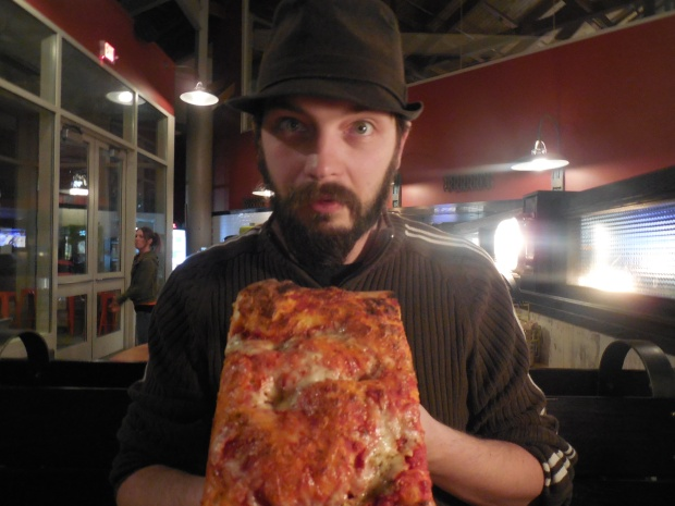 I'm very thankful for Pizza! (Hint - this was taken at a restaurant I'm reviewing soon!)